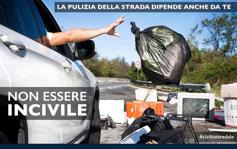Abbandono dei rifiuti - Non essere incivile